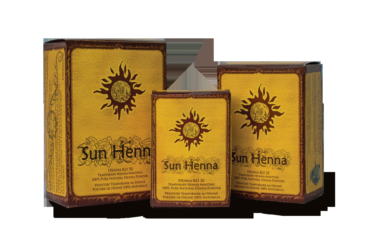 Brand new Sun Henna Kits 2016
