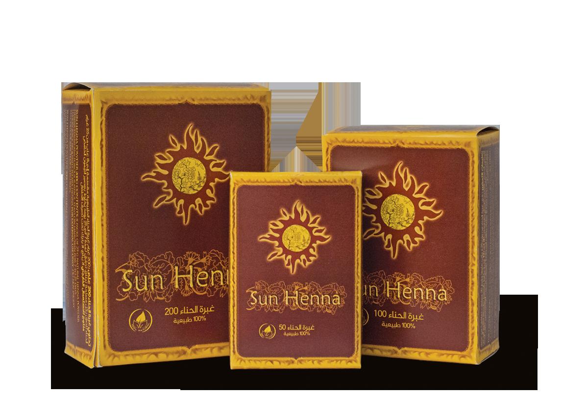 Sun Henna Powder 50, 100 & 200