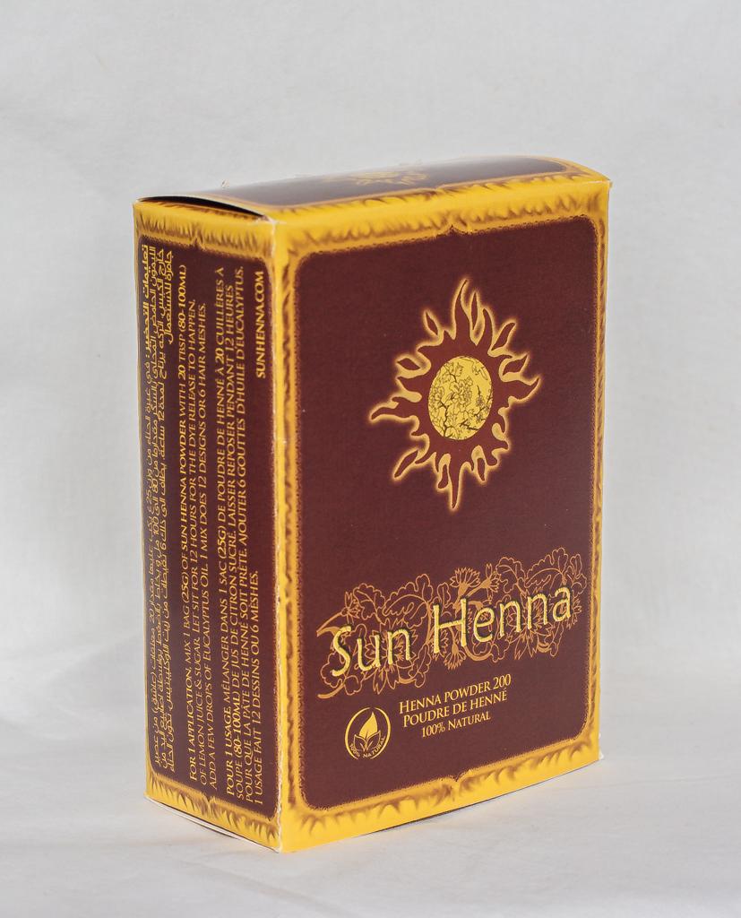 Sun Henna Powder 200