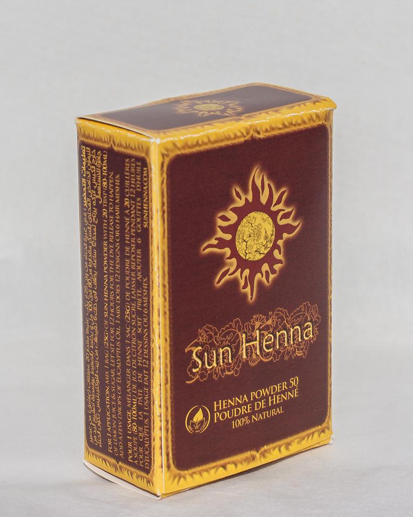 Sun Henna Powder 50